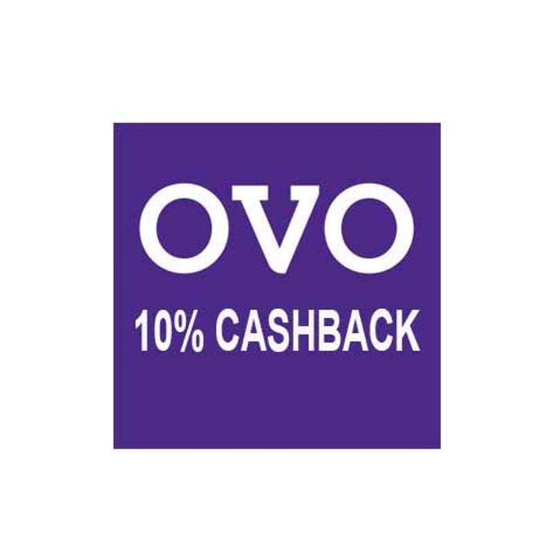 OVO Cashback 10% Cashback cappe@ Rp 20.000
