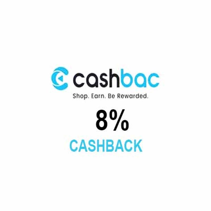 CASHBAC enjoys 8%